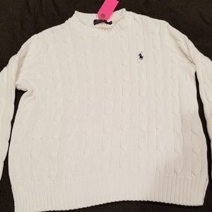 Ralph Lauren Polo Blue Label Cable Knit Sweater